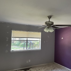Popcorn Ceiling Removal and Interior Painting in Oklahoma City